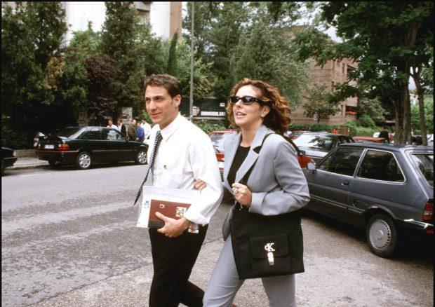 Antonio David Flores y Rocío Carrasco, en la década de los 90 / Gtres