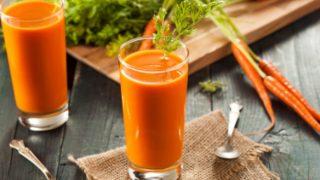 Prepara tu piel para el sol de la primavera con estas recetas de batido de zanahoria