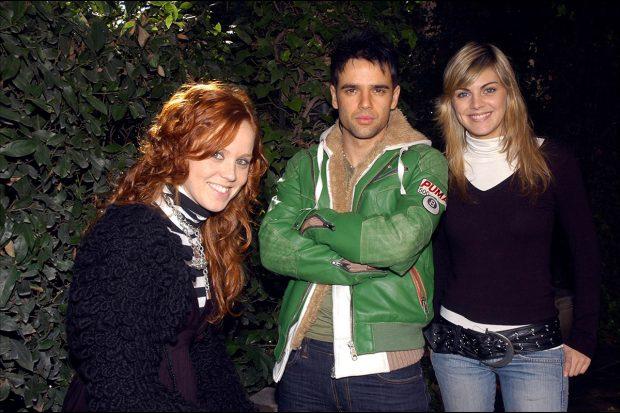 Amaia Salamanca, María Castro y Raúl Peña formaban el grupo 'SMS' / Gtres
