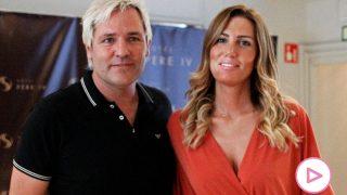 Santiago Cañizares y su mujer Mayte / Gtres