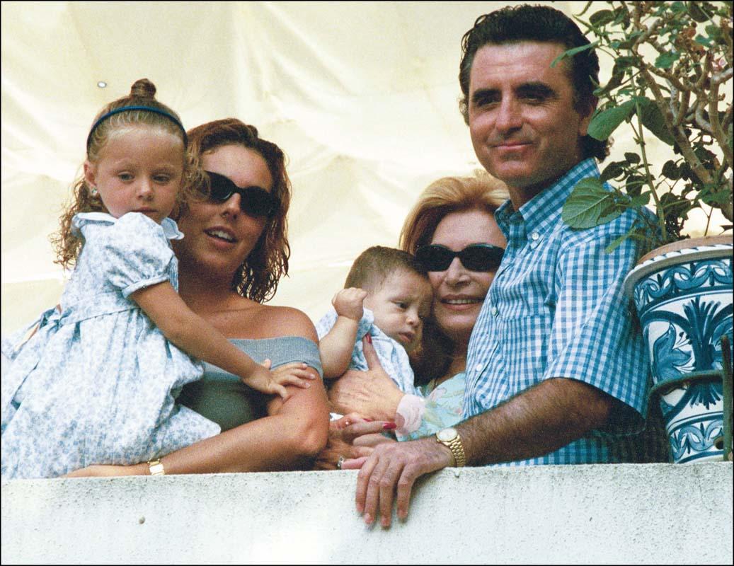 Una imagen feliz de la familia/Gtres