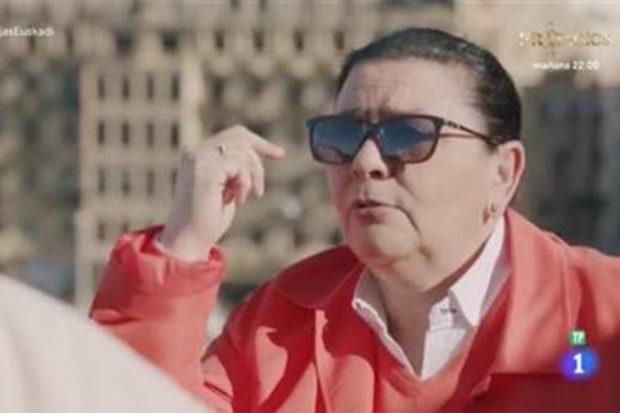 María del Monte confiesa que se ha enamorado varias veces a lo largo de su vida en 'Dos parejas y un destino'./TVE