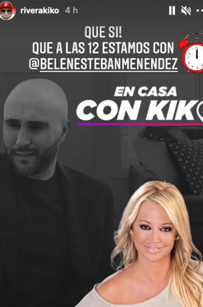 Kiko Rivera ha creado su propio programa de entrevistas online, 'En casa con Kiko'./Instagram @riverakiko