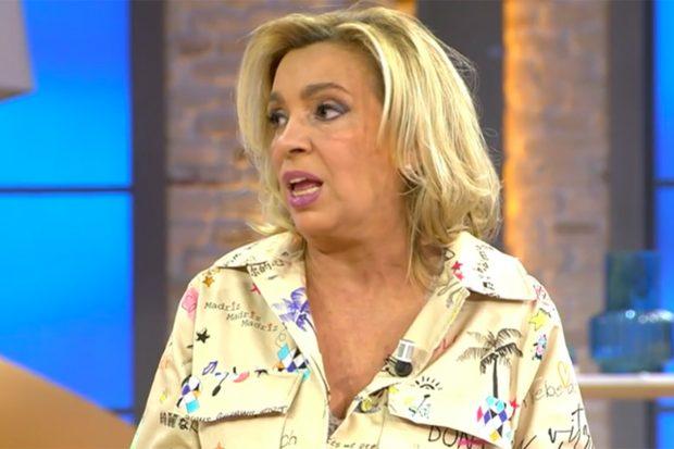 Carmen Borrego en 'Viva la vida'./Telecinco