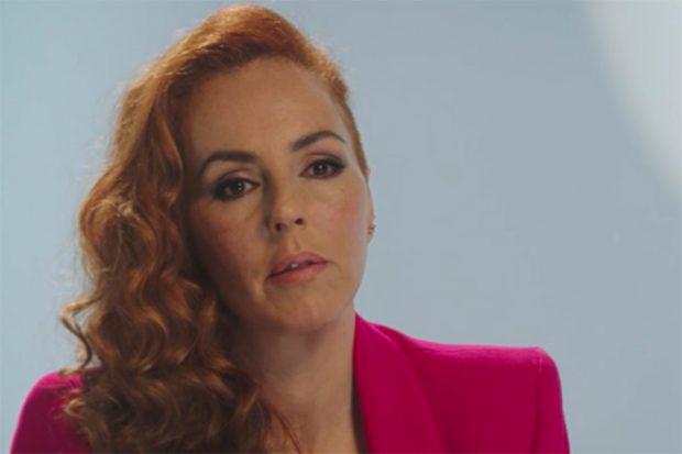 Rocío Carrasco en el documental sobre su vida./Telecinco