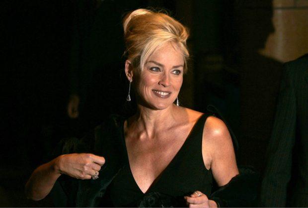 Sharon Stone, promocionando 'Instinto Básico' / Gtres