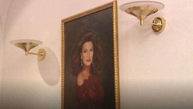 Retrato de Rocío Jurado en su casa / Mediaset