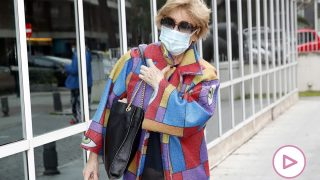 Mila Ximénez a su llegada al hospital / Gtres