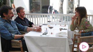 Nuria Roca en el almuerzo con Pablo Motos y Juan del Val / Gtres