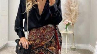 Zara vende la falda pareo que alarga las piernas y ya tiene lista de espera esta primavera