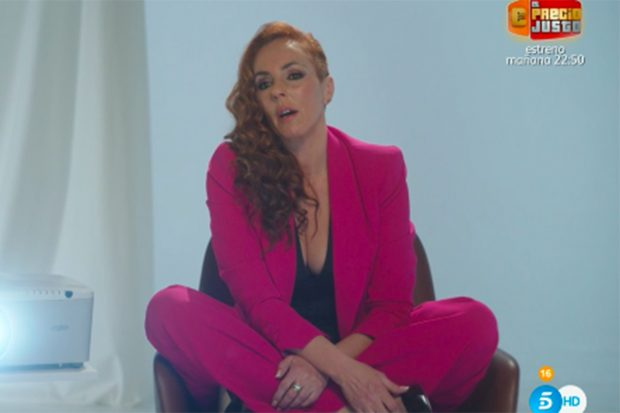 Rocío Carraco en el documental 'Rocío: contar la verdad para seguir viva'./Telecinco