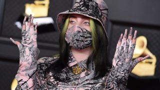 Billie Eilish en los Premios Grammy / Gtres