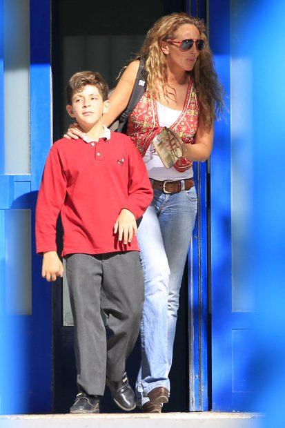 Rocío Carrasco, con su hijo David Flores, hace 9 años / Gtres