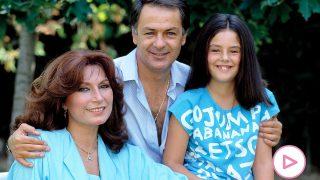 Rocío Jurado y Pedro Carrasco, junto a su hija Rocío / Gtres