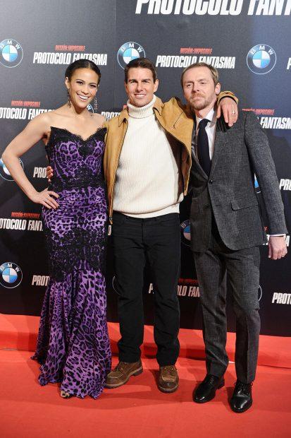 Tom Cruise, Paula Patton, Simon Pegg