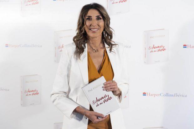 Paz Padilla ha presentado su libro / Gtres