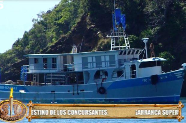 'Barco encallado', lugar donde 8 concursantes pararán los primeros días del reality./Telecinco