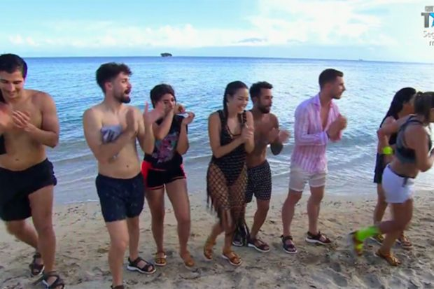 Concursantes de 'La isla del pirata Morgan'./Telecinco