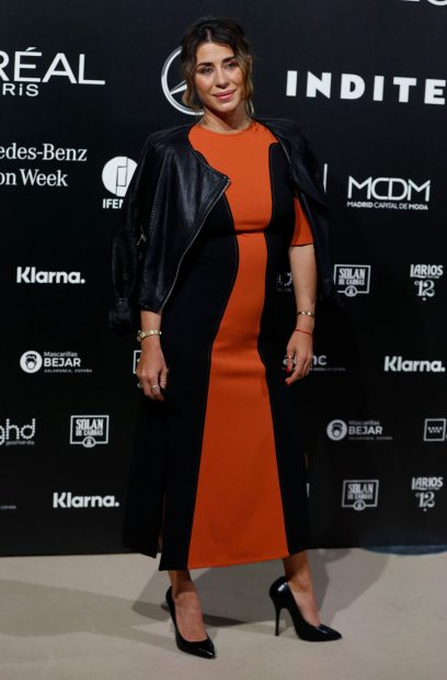 Elena Tablada, en la Mercedes-Benz Fashion Week Madrid 2021 / Gtres