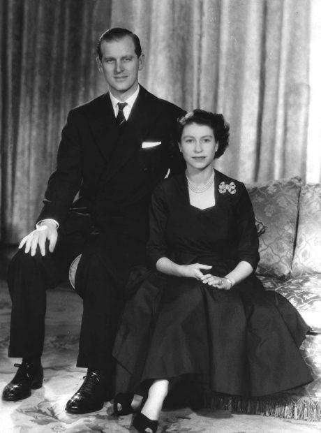 Reina Isabel II, Felipe de Edimburgo