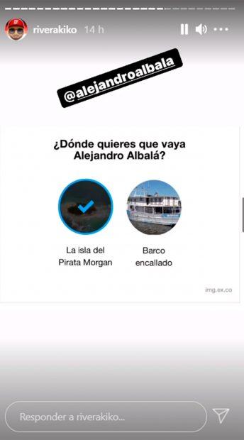 Kiko Rivera apoya a Alejandro Albalá / Instagram