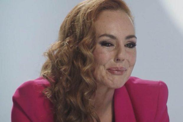 Rocío Carrasco en su propio documental, 'Rocío: contar la verdad para seguir viva'./Telecinco
