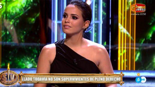 Gloria Camila en el debate de 'Supervivientes 2021'./Gtres