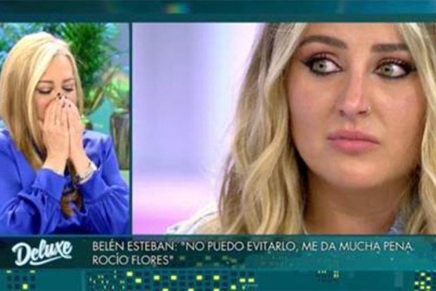 Belén Esteban en 'Sábado Deluxe'./Telecinco