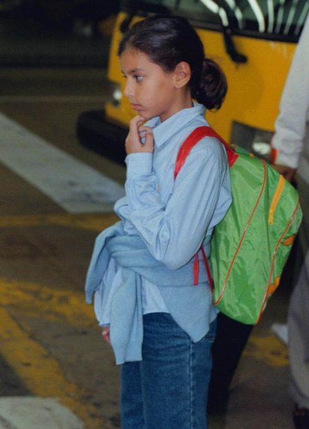 Ana Boyer, de pequeña en Miami / Gtres