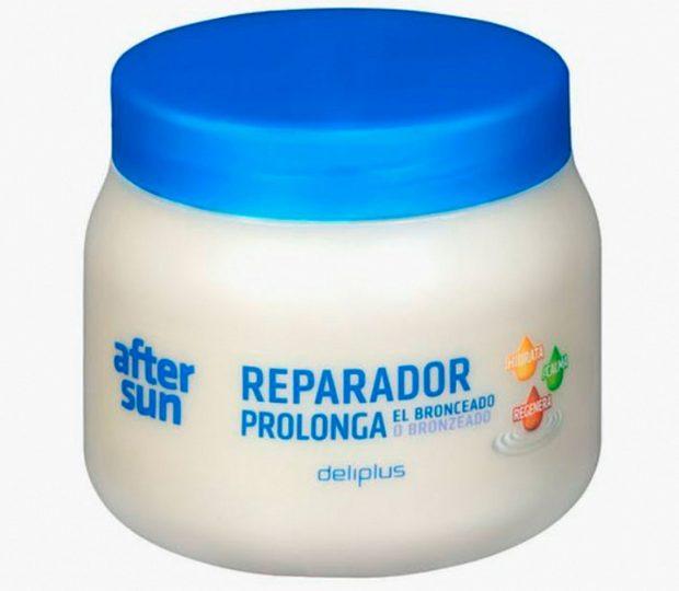 Crema reparadora Aftersun de Deliplus / Mercadona