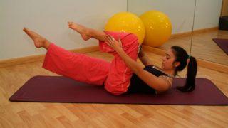 Practicar pilates en casa con estos ejercicios