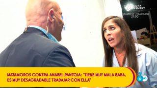 Anabel Pantoja durante una discusión con Kiko Matamoros / Telecinco