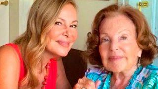 Ana Obregón junto a su madre en una imagen de Instagram / Instagram