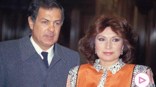 Pedro Carrasco y Rocío Jurado en una imagen de archivo/Gtres