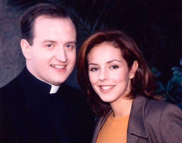 Rocío Carrasco y el padre Apeles / Telecinco