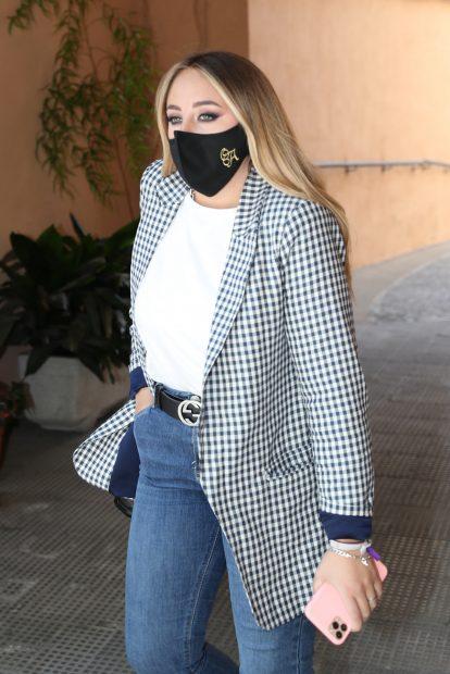 Rocío Flores tras las declaraciones que ha hecho sobre su madre en 'El programa de Ana Rosa'./Gtres