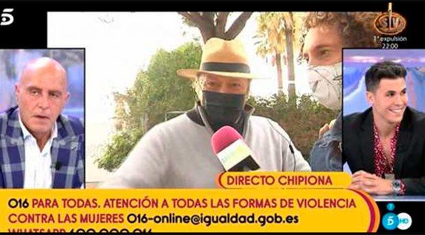 Amador Mohedano dice no tener miedo ante las amenazas de demanda de Rocío Carrasco / Mediaset