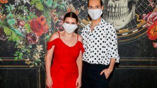 Carla Vigo posa con Jesús Reyes, CEO de CoolHunting / Gtres