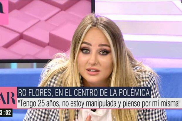 Rocío Flores ha roto su silencio / Mediaset