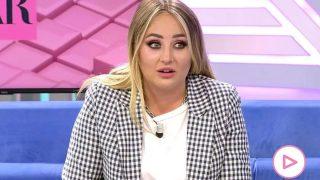 Rocío Flores durante su intervención en 'El programa de Ana Rosa' / Telecinco