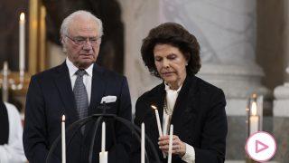 Silvia y Carlos Gustavo de Suecia/Gtres