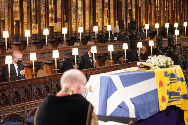 Funeral del duque de Edimburgo./Gtres