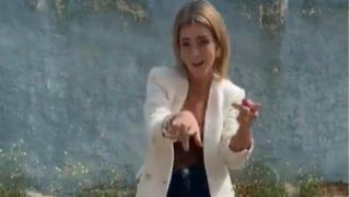 Esta es la blazer definitiva de Zara de esta primavera según Amelia Bono