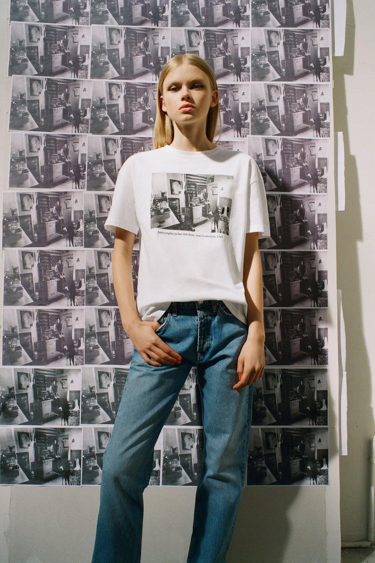 Zara rescata a grandes iconos de la cultura del siglo XX para plasmarlos en camisetas