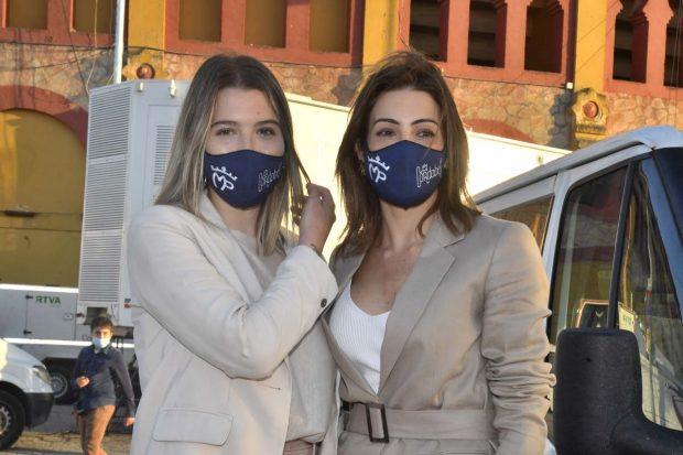Virginia Troconis y Alba Díaz