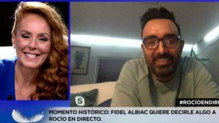 Fidel Albiac ha sorprendido con su llamada a  Rocío Carrasco / Telecinco