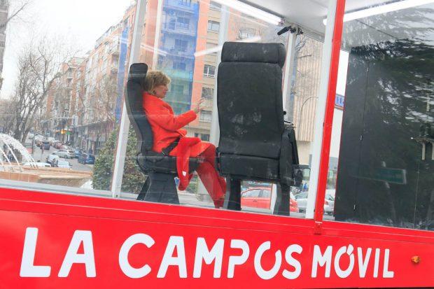 María Teresa Campos, en 'La Campos Móvil' / Gtres