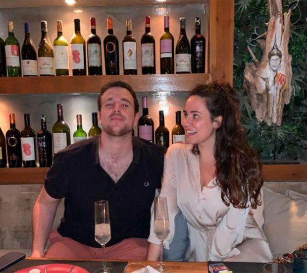 Álex Lequio y Carolina Monje