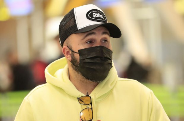 Kiko Rivera, en Barajas / Gtres