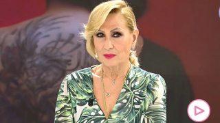 Rosa Benito durante el programa de este viernes / Telecinco